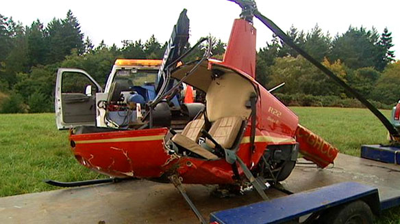 Another Robinson Helicopter Mishap Bessingerblog