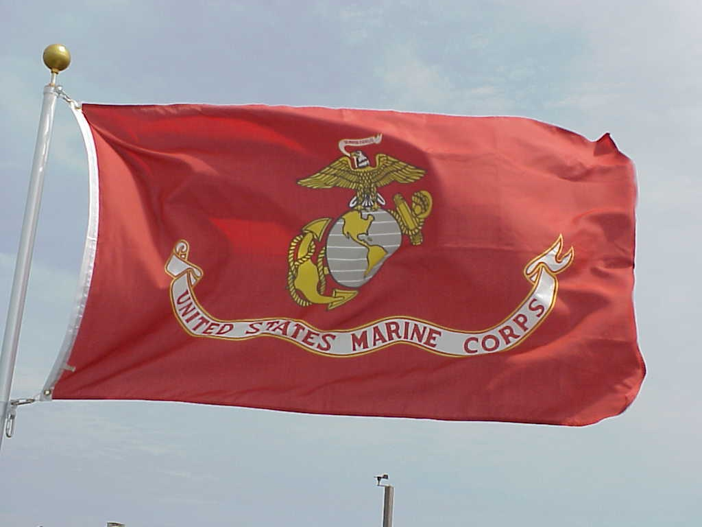 marine corps flags