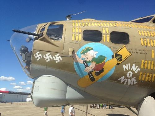 B-17G. Quonset Point, RI. Summer 2013.